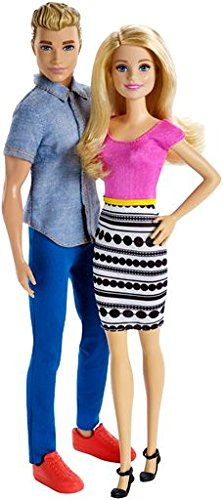 Barbie and Ken Doll 2 pack product image