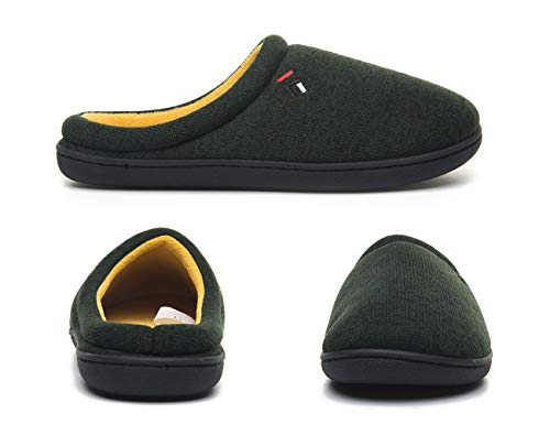 Douce Foottech Hiver Pantoufle Pantoufles Chaussons Vert Slippers Chaud Peluche Coton Douillet Chaussures Homme Accueil 4qgXgwA