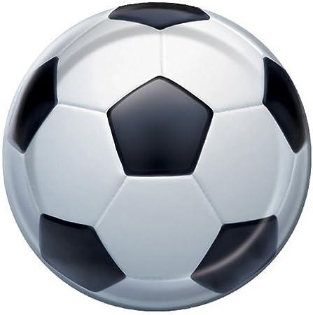 Platos Pelota de Fútbol x 8 para Fiestas: Amazon.es: Juguetes y juegos