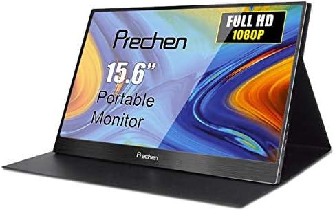 15.6 Pulgadas Portátil USB-C Monitor, Prechen FHD 1920x1080 LCD Pantalla Externa Portable HDMI Monitor con interfaces HDMI/USB C Compatible para PS3 PS4 Xbox360 Teléfono Celular Altavoz Incorporado: Amazon.es: Electrónica