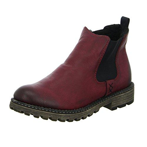 Rieker Damen Y6794 Chelsea Boots Bordo