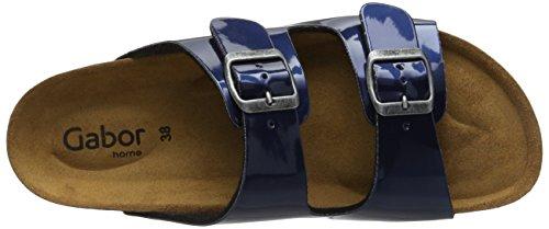 Gabor Home Ee-15-001 - Sandalias Mujer Blau (marino met)