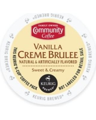 Community Coffee Vanilla Brulee K cups product image