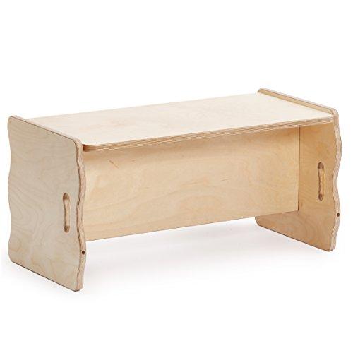 Erzi Multifunktionsbank Holzbank Holz Bank Kinder Sitzmöbel
