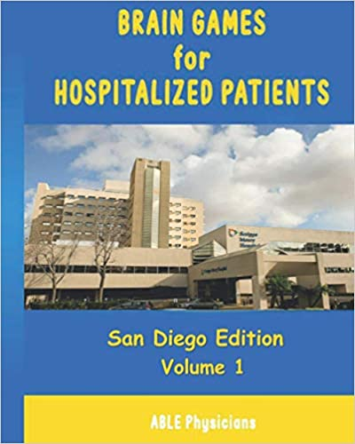 Brain Games For Hospitalized Patients: San Diego Edition