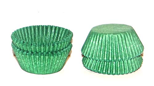 #5 Green Paper Candy Cup Cups 200 Pack Candy Making - Candy Cups Green