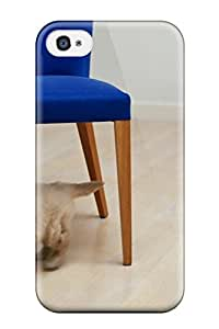 Awesome OzxgkZM8571Kytnn ZippyDoritEduard Defender Tpu Hard Case Cover For Iphone 4/4s- Cute Puppy Blue Chair Amp Animal Dog
