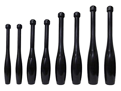 Apollo Athletics Iron Power Clubs - 5-10-15-20 lb. Indian Club Set (Pairs) - Exercise Bats by Ironcompany.com