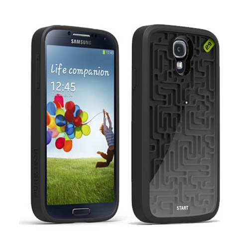 new product 65841 95976 PureGear A-Mazing Retro Game Case for Samsung Galaxy S4 - Retail Packaging  - Black