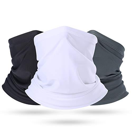 Weather Protection - BINMEFVN Summer Bandana Face Mask -Dust Sun UV Protection Fishing Neck Gaiter - for Men & Women