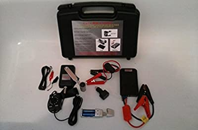 30W Military 12 Volt Hand Crank Generator Charger Kit Auto 8 Amp Jump Starter USB Car AA / AAA Battery Charger w/ AC Power Inverter. Cell Phone, Laptop and Auto Battery Charger. Over $400 in gear!