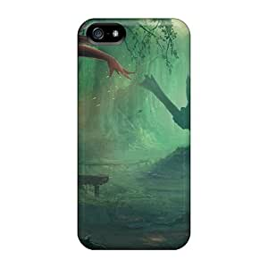 Protective Hard Cell-phone Cases For Iphone 5/5s With Customized Vivid Monster Pictures JasonPelletier