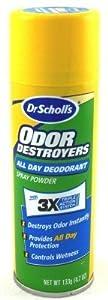 Dr. Scholl's Odor Destroyer Deodorant Spray 4.7 oz.