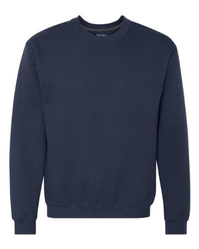 Gildan 92000 Adult Premium Cotton Crew Neck Sweatshirt - Navy - XL
