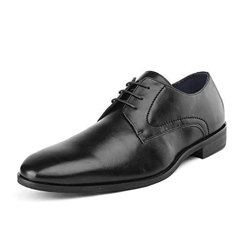Bruno Marc Men's HUTCHINGSON_5 Black Dress Shoes Size 8.5 M US