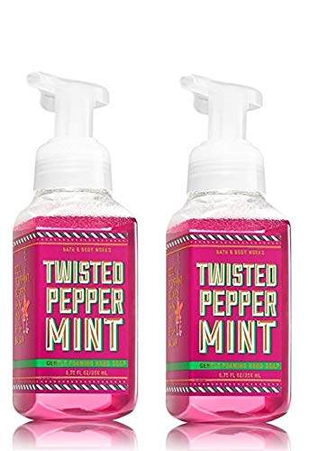 Bath & Body Works, Gentle Foaming Hand Soap, Twisted Peppermint (2-Pack)
