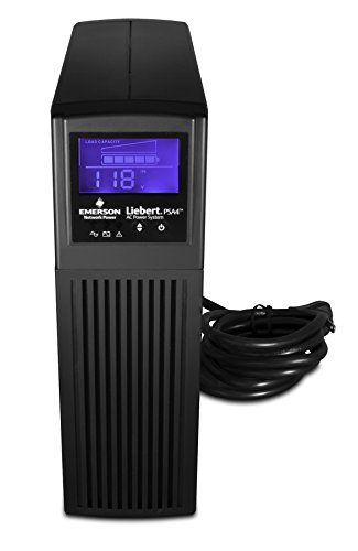 Liebert Uninterruptible Power Supply Mini-Tower Battery Backup & Surge Protection 1 SURGE PROTECTION & BATTERY BACKUP - 700VA/420W Line-Interactive, TAA Compliant UPS for guaranteed protection of desktop computers, gaming consoles, workstations, networks/routers, surveillance & other electronics 8 TOTAL OUTLETS & USB - 4 surge only & 4 battery & surge outlets with built in USB port, included USB cable EXCELLENT WARRANTY - 3 year full unit coverage including the battery with no-hassle, advanced replacement warranty