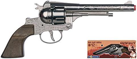 Hoffi- Revolver 12 Tiros - Plata (122/0)