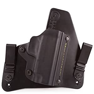 Taurus Model 85 IWB Hybrid Holster with Adjustable Retention and Comfort Curve, Black Arch Holsters (Formerly SHTF Gear) ACE-1 Gen 2