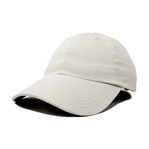Dalix Unisex Unstructured Cotton Cap Adjustable Plain Hat, -