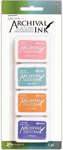 Wendy Vecchi Mini Archival Ink Pads Kit #3 and Kit #4 Bundle