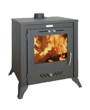 Para Estufa Chimenea quemador de leña Combustible Sólido Madera quemador kupro largo 15 kW: Amazon.es: Bricolaje y herramientas