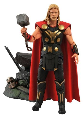 Diamond Select Toys Marvel Thor 2 Action Figure]()