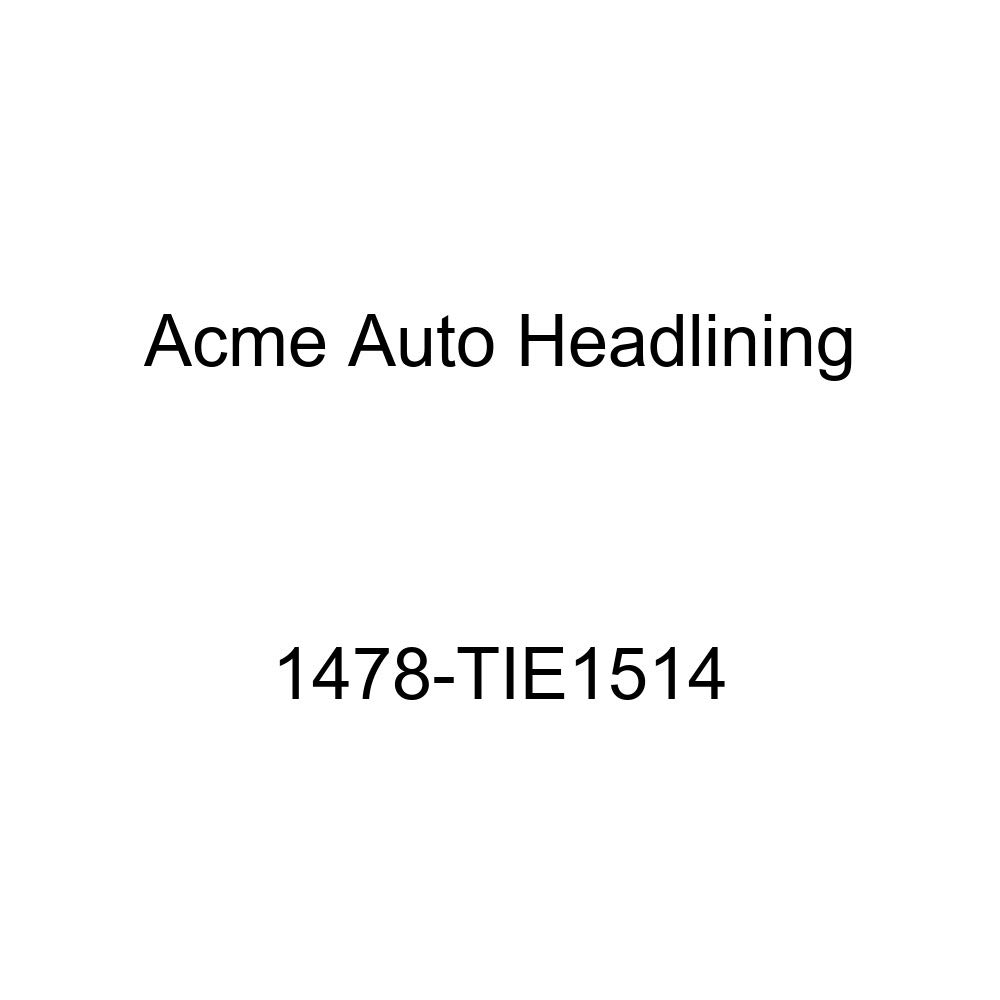 Acme Auto Headlining 1478-TIE1514 Silver Blue Replacement Headliner 1958 Chevrolet Impala 2 Door Hardtop 8 Bows