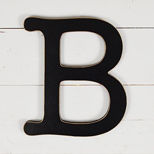 11.5'' Typewriter Wall Decor Letter ''B''- black