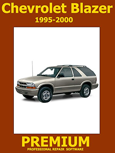 Chevrolet Blazer Repair Software (DVD) 1995 1996 1997 1998 1999 2000 2001 2002