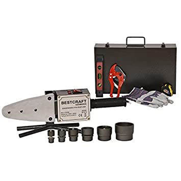 Soldador 2700 W con 7 troqueles para soldar tuberías de plástico PVC: Amazon.es: Bricolaje y herramientas