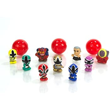 Squinkie Power Ranger 12 Piece Bubble Series 1