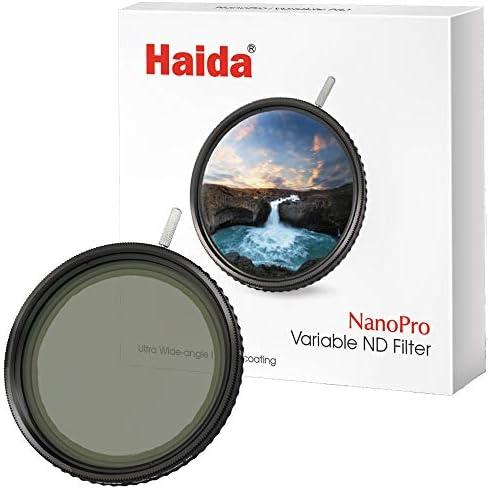 [スポンサー プロダクト]Haida 可変NDフィルター ナノプロ バリアブル ND フィルター 77mm HD4221 ND1