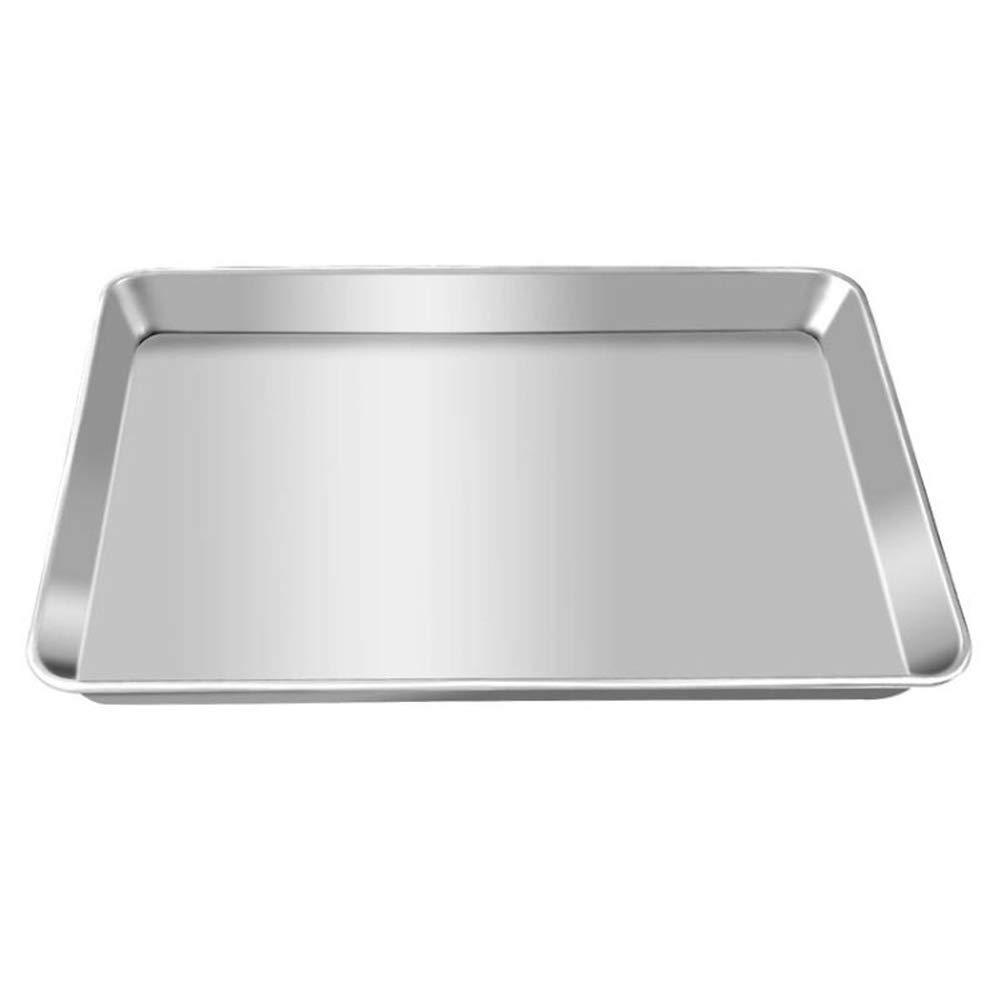 AWGEGF Bandeja de horno de aluminio 60 x 40 rectangular ...