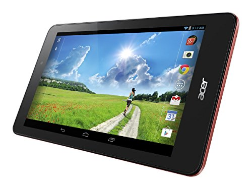 Acer ICONIA ONE 8 NT.L94AA.001 8-Inch 32 GB Tablet (Black/Red)