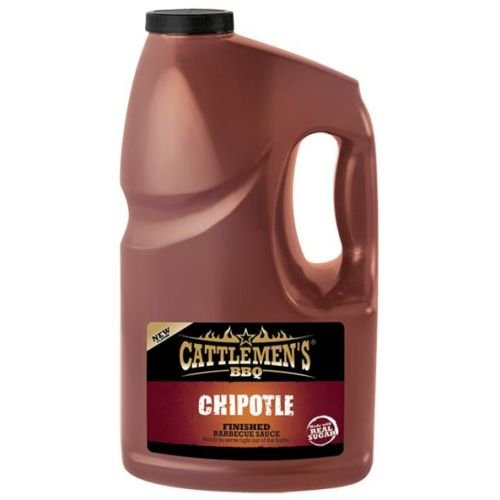 Cattlemens Chipotle Finished BBQ Sauce, 1 Gallon - 2 per case. by French's