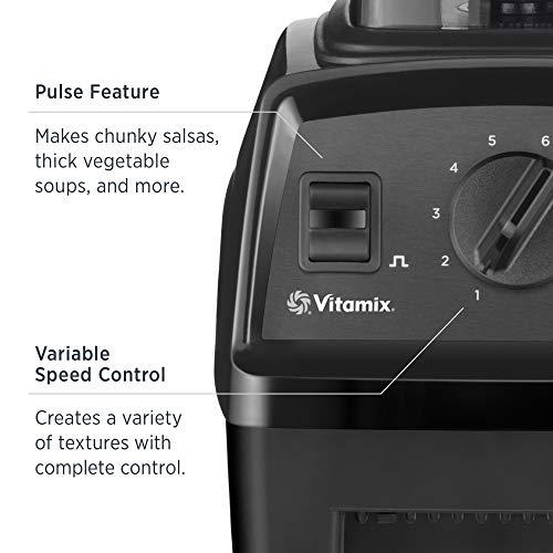 Vitamix E310 Explorian Blender, Professional-Grade, 48 oz. Container, Black
