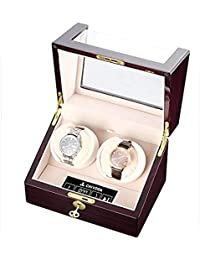 Dual Automatic Watch Winder with Double Quiet Mabuchi Motors