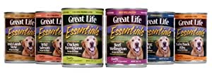 """Wild Salmon Canned Dog Food 12/13 Oz. Not Available In Va, Md, Dc by Great Life Perf Pet Prod"""