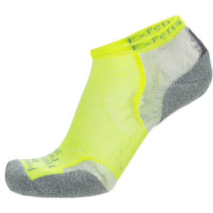 Thorlo Women's Experia Ultra Lightweight Socks, Electric Yellow, X-Small