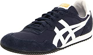 d55a8e8787c09 Onitsuka Tiger Serrano Sneaker,Navy/White,9 M US Women's/7.5 M US ...