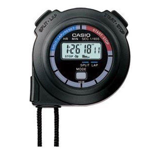 Casio Men's HS3V-1BRDT Black Nylon Quartz Watch with Digital Dial