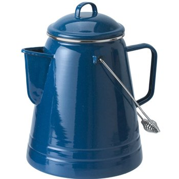 GSI Outdoors Pioneer Coffee Boiler 36 Cup, Blue