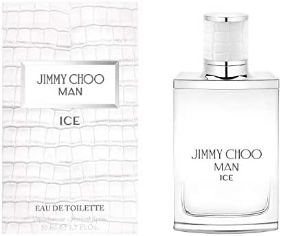 JIMMY CHOO Man Ice Eau De Toilette, Citrus Aromatic Woody, 1.7 fl.oz.