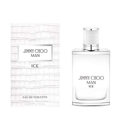 JIMMY CHOO Man Ice Eau De Toilette, Citrus Aromatic Woody, 1.7 fl.oz.