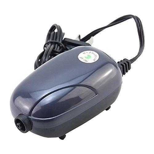 LONDAFISH Aquarium Oxygen Air Pump Quiet Air Pump for Fish Tank with Accessories 3W/5W (3W)