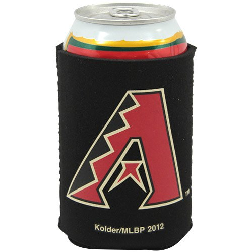 MLB Arizona Diamondbacks Can Holder Black Sports Fan Cold Beverage Koozies, Team Color, One Size