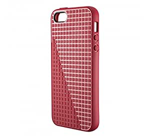 Speck Products PixelSkin HD Rubberized Case for iPhone 5, 5s, SE - Pomodoro Red