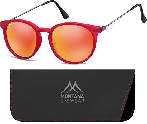 Multicolor Revo Red Unisex de Gafas Adulto Sol Montana Red qSXHUwx