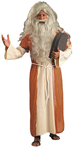 Forum Novelties Men's Moses Outfit Religious Theme Party Fancy Dress Adult Costume, OS (Up to 42) -